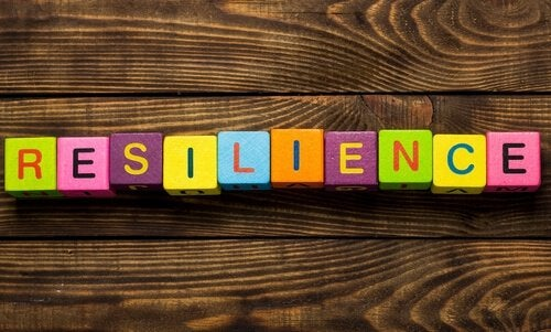 resilience block letters