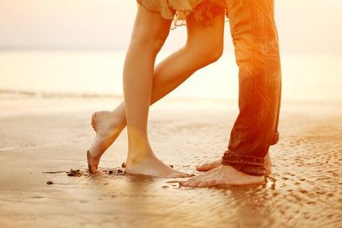 couple legs