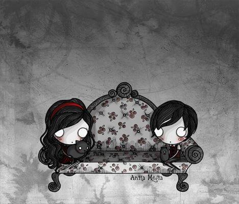 emo couple