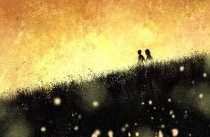 field of fireflies never
