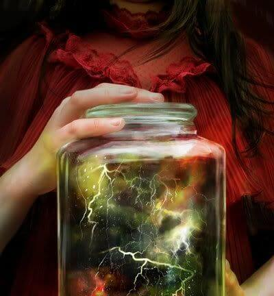 lightning in a jar