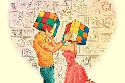 rubix cube heads