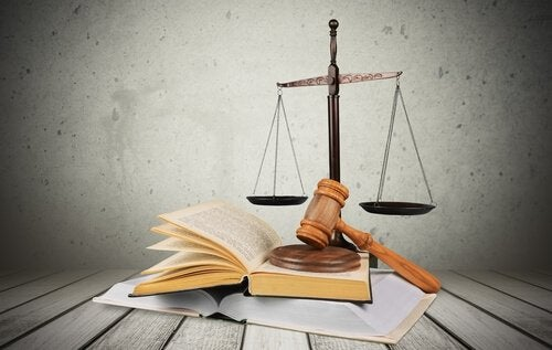 Book, Gavel, and Scales