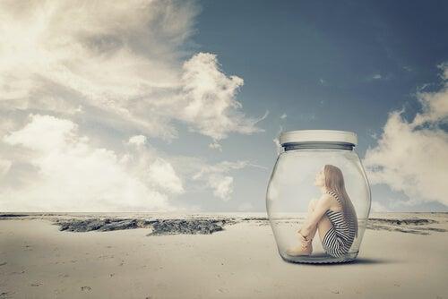 girl in a jar