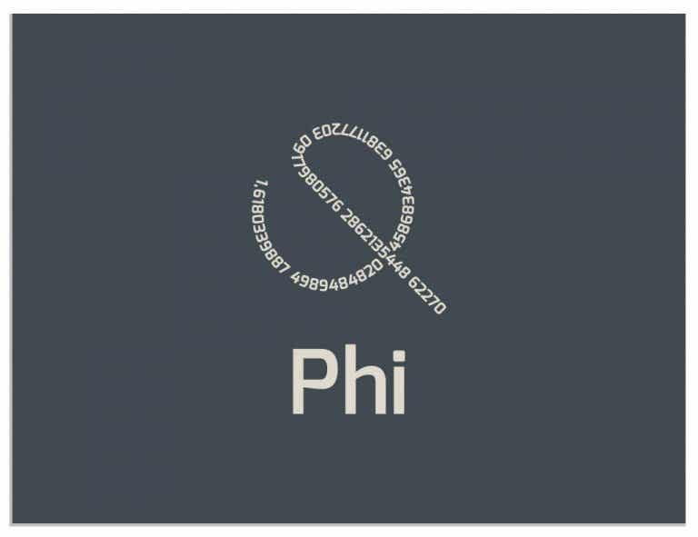 Phi: The Golden Number, the Divine Ratio