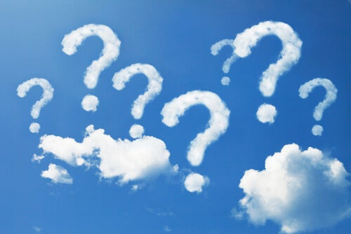 question clouds