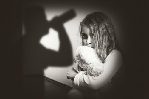 Image result for image of traumatic childhood events