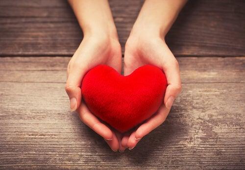 Hands Offering Heart
