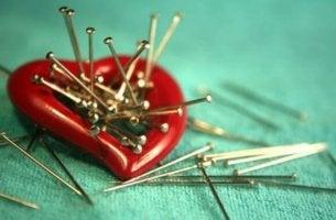 Heart Full of Pins