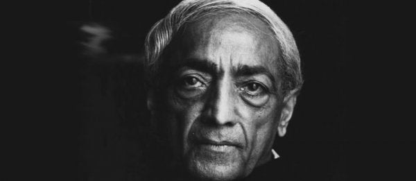 This Video of Krishnamurti Will Make You Reflect Upon Yourself