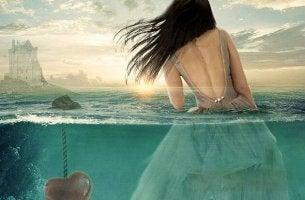 Woman in Water by Heart