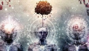 tree growing from mind
