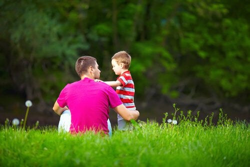 father-and-son-in-a-field-of-grass