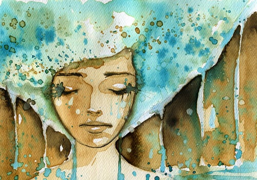 girl-with-blue-afro-watercolor
