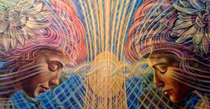 women spiritual image