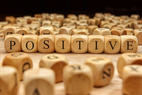 Positive Spelled with Dice