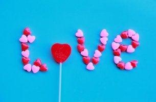 Love Written in Candy