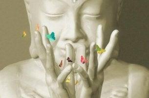 buddha-with-butterflies