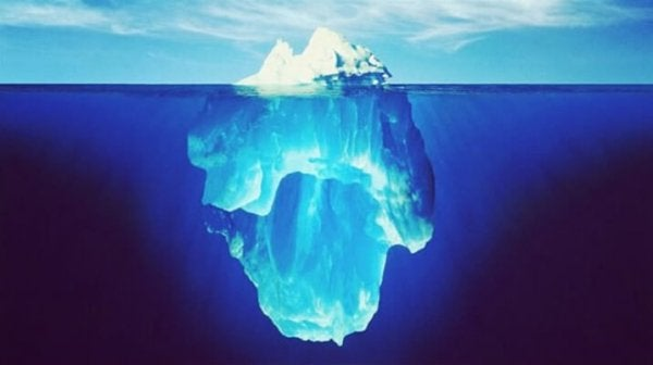 The Iceberg Theory and Our Decisions