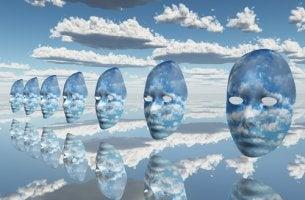 Masks in Sky
