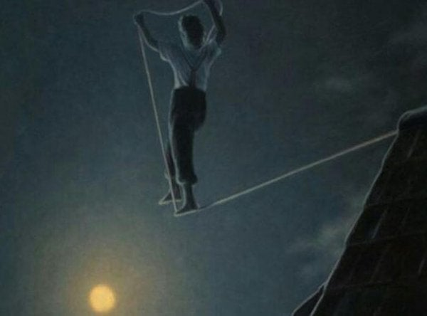 unfinished tightrope