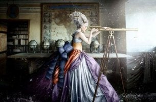 woman-looking-into-telescope