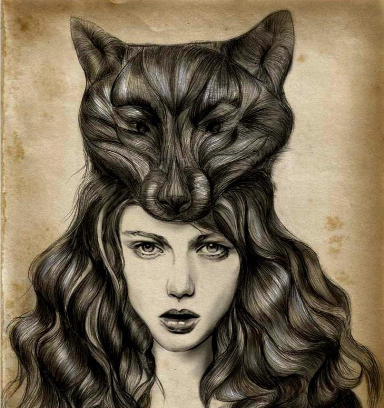 woman-with-fox-in-hair
