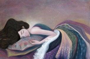 lady-sleeping