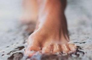 walking in water