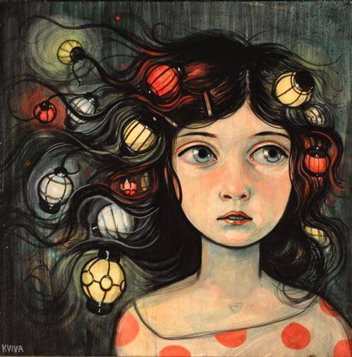 girl-with-lanterns-in-her-hair