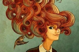 woman with big hair