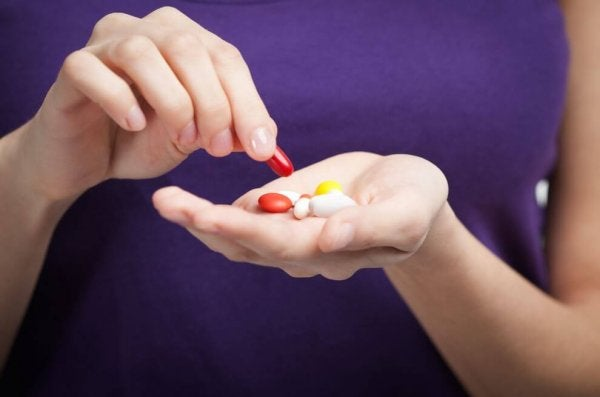Hands with Pills