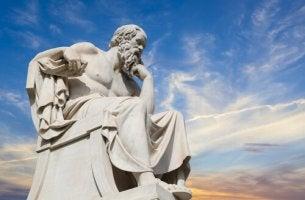 Philosopher Statue Thinking
