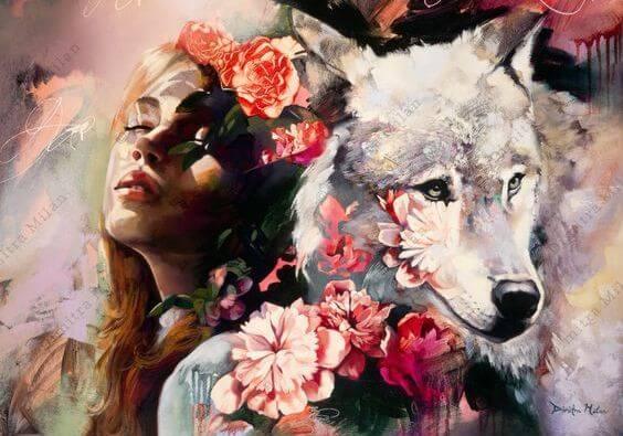 여자와 늑대: 나는 운이 좋은 게 아냐