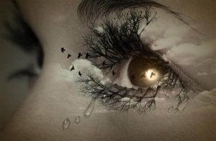 Sad Eye Sky