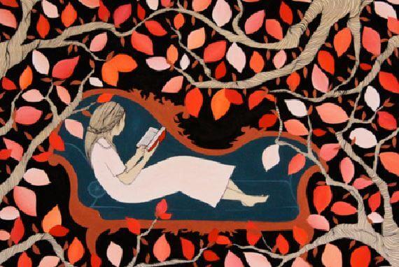 girl-reading-books