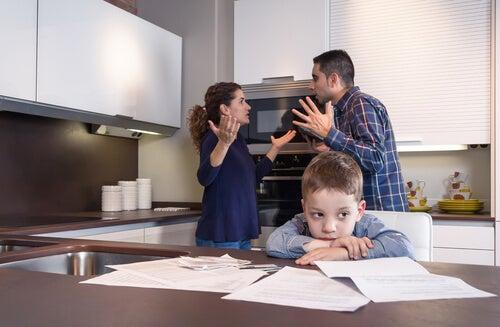 parents fighting