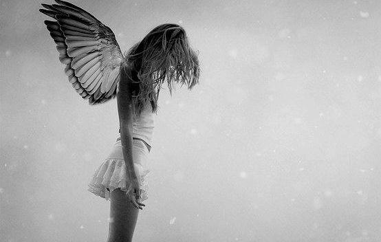 sad fallen angel