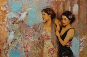 women-with-birds
