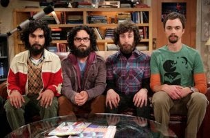 big bang theory beards