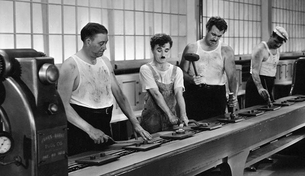 Charlie Chaplin Modern Times Assembly Line
