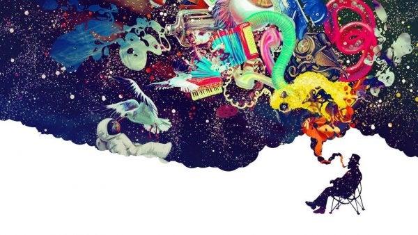 man's creative mind