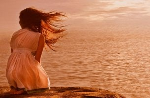 girl near the water