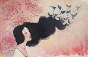 bird hair