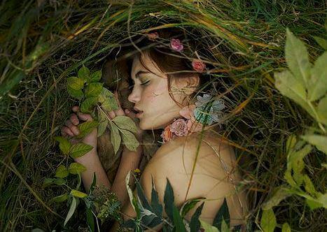 숲속의 소녀