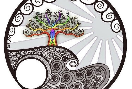 colorful drawing of tree