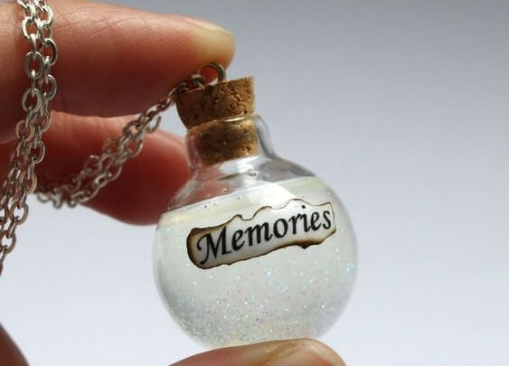 glass ball of memories
