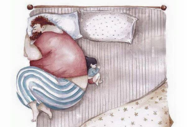 Parents and Children: The Imprint of Parental Abandonment