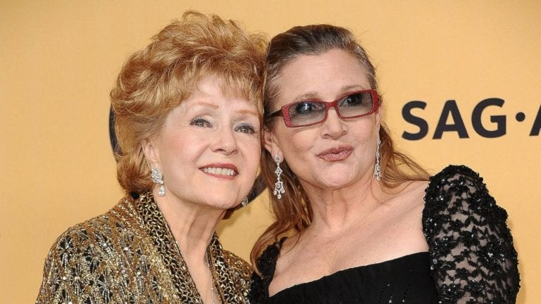 carry fisher and debbie reynolds
