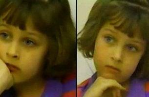 Beth Thomas was a psychopath little girl.
